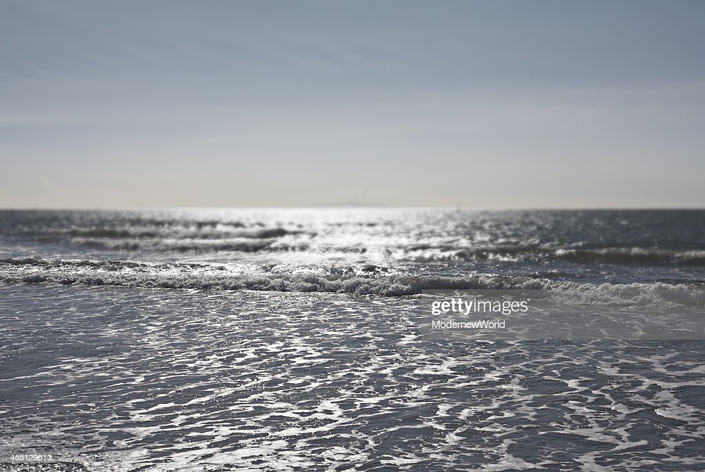 seeing ocean from the beach 01 : Stock Photo
