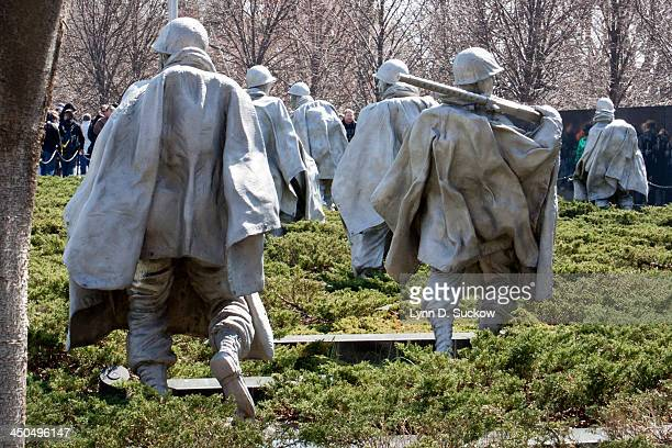 Seeing these sculptures of the soldiers, on high alert, burdened down by their army gear and cloaks, I felt their burden as well. Korean War: 25 June...