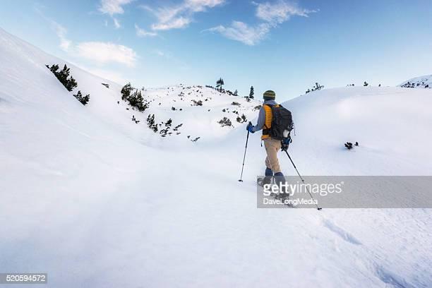 Auf der Suche nach Ruhe und Frieden hoch in den Alpen
