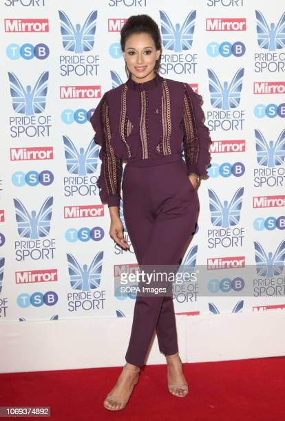Seema Jaswal at The Mirror Pride of Sport Awards at Grosvenor House in Park Lane
