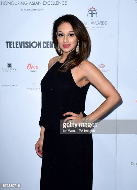 Seema Jaswal attending the 7th annual Asian Awards at the Hilton Hotel Park Lane London PRESS ASSOCIATION Photo Picture date Friday May 5 2017 Photo...