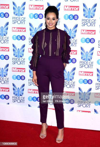 Seema Jaswal attending the Pride of Sport Awards 2018 at the Grosvenor House hotel London