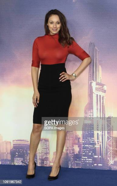 Seema Jaswal attends the 'Alita Battle Angel' World Premiere at the Odeon Luxe in Leicester Square