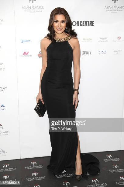 Seema Jaswal attends The Asian Awards at Hilton Park Lane on May 5 2017 in London England