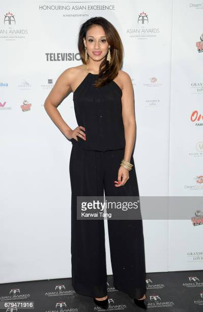 Seema Jaswal attends The Asian Awards at the Hilton Park Lane on May 5 2017 in London England