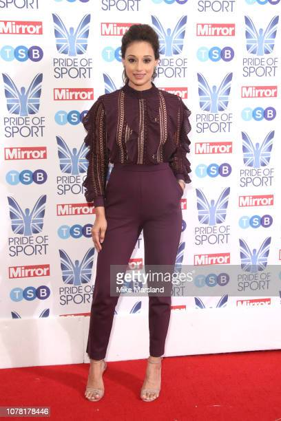 Seema Jaswal attends the Pride of Sport awards 2018 at Grosvenor House on December 06 2018 in London England