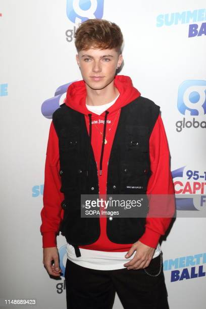 HRVY seen during the Capital FM Summertime Ball at Wembley Stadium in London