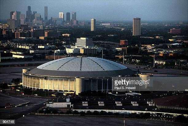 Seen here in this March 31 2000 file photo is an aerial view of the Houston Astrodome home to the hometeam the Astros