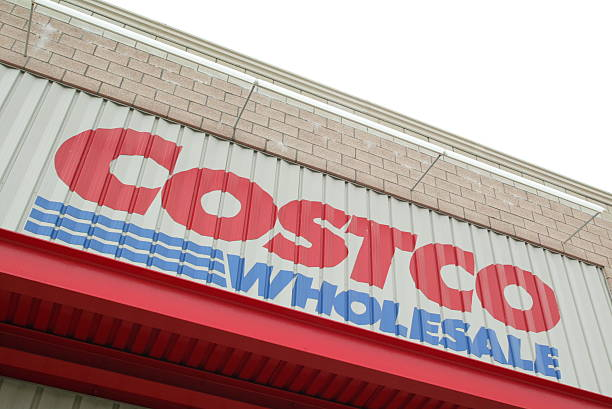 Seen Is An Exterior View Of A Chicago Costco Warehouse Store