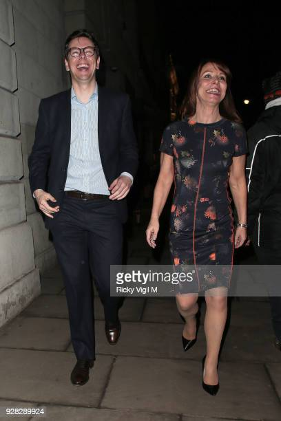 seen Kay Burley attending InterTalent's launch party at BAFTA on March 6 2018 in London England