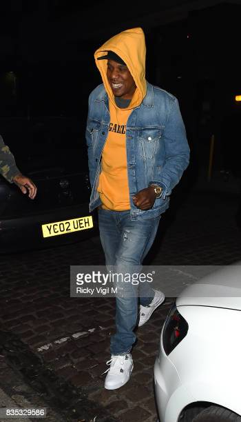 Z seen on a night out at Chiltern Firehouse on August 18 2017 in London England