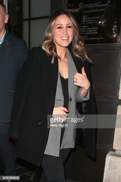 seen Rachel Stevens attending InterTalent's launch party at BAFTA on March 6 2018 in London England