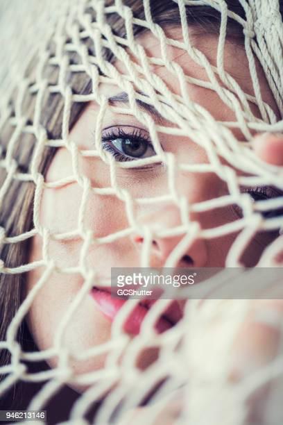 Seen through the net