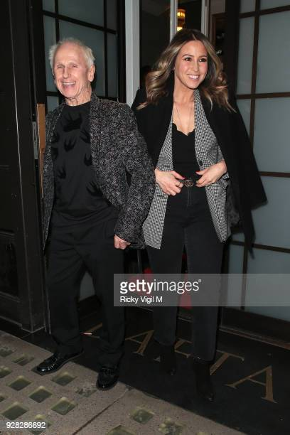 seen Wayne Sleep and Rachel Stevens attending InterTalent's launch party at BAFTA on March 6 2018 in London England