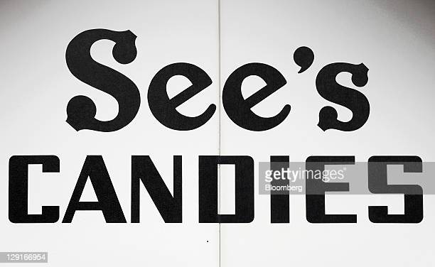See's Candies Inc. Signage is displayed outside the company's factory in San Francisco, California, U.S., on Monday, Oct. 10, 2011. See's Candies...