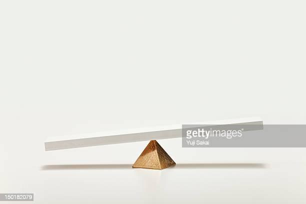 Seesaw on pyramids