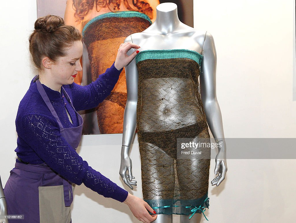Passion For Fashion Auction - Photocall with Kate Middleton's Dress : News Photo