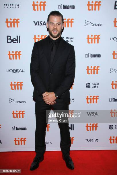 Sefton Fincham attends the 'The Standoff At Sparrow Creek' premiere during 2018 Toronto International Film Festival at Ryerson Theatre on September...