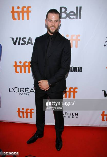 Sefton Fincham attends 'What They Had' premiere during 2018 Toronto International Film Festival at Roy Thomson Hall on September 12 2018 in Toronto...