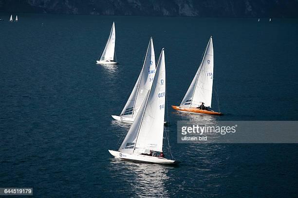 Segelregatta am Gardasee