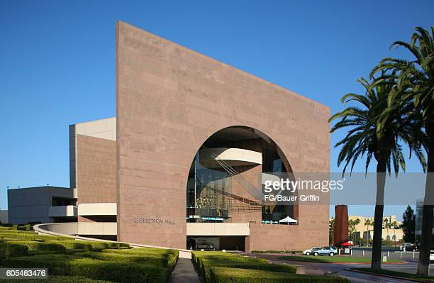 Segerstrom Hall in Orange County on September 13 2016 in Costa Mesa California