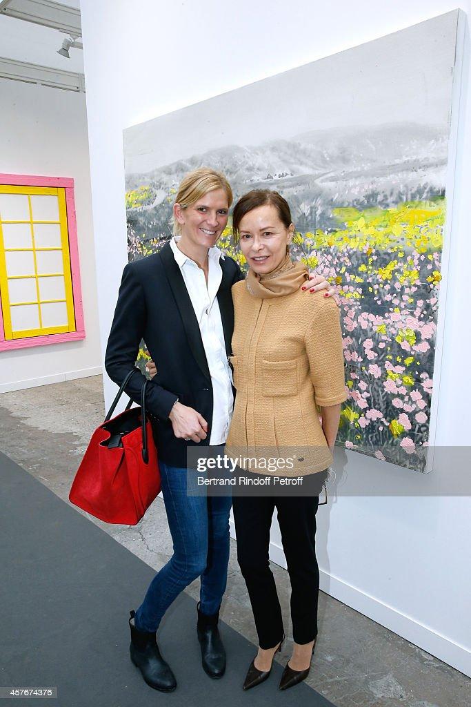 FIAC 2014 - International Contemporary Art Fair -: Official Opening At Le Grand Palais In Paris