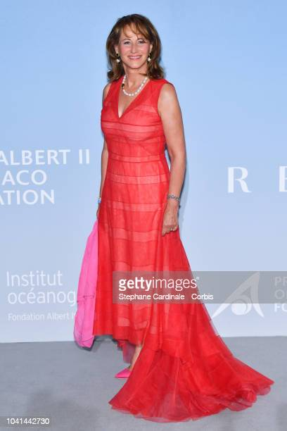 Segolene Royal attends the MonteCarlo Gala for the Global Ocean 2018 on September 26 2018 in MonteCarlo Monaco