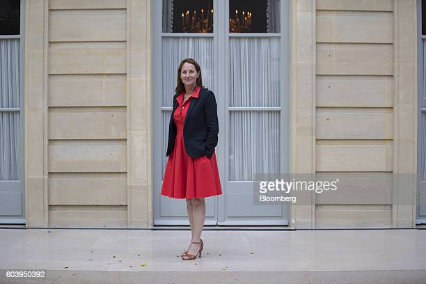 Segolene Royal France's energy and environment minister poses for a photograph following a Bloomberg Television interview in Paris France on Monday...