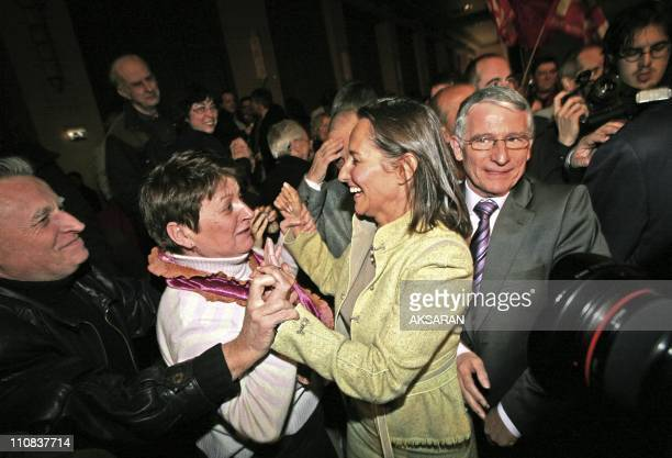 Segolene Royal Is In Toulouse To Support Pierre Cohen'S Candidacy To The City Council In Toulouse, France On March 06, 2008 - Received here with...