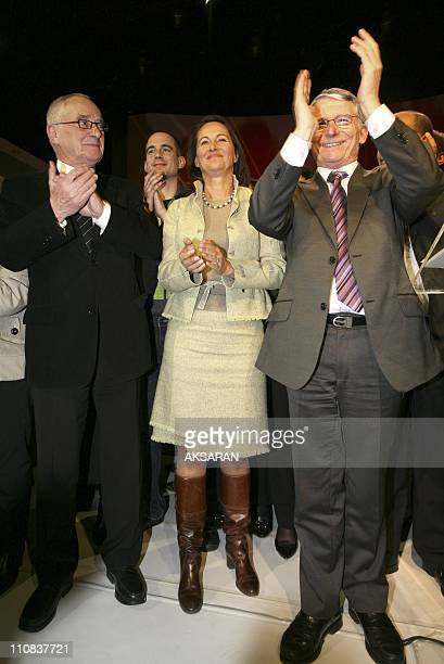 Segolene Royal Is In Toulouse To Support Pierre Cohen'S Candidacy To The City Council In Toulouse France On March 06 2008 Segolene Royal to support...
