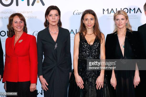 Segolene Royal Princess Caroline of Hanover Founder of MAWOMA Clemence Guerrand and Melanie Laurent attend the Launch of the First Worldwide...