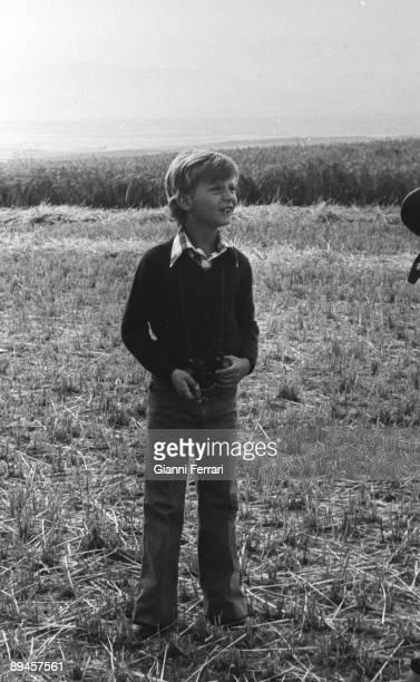 1976 Segovia Castile and Leon Spain The Prince Felipe during the 'Galia' military operation