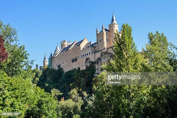 Segovia, España-el alcázar de Segovia