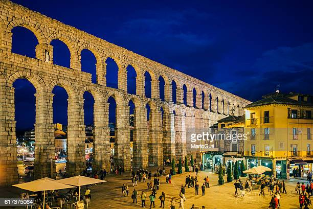 segovia, spain. - segovia stock pictures, royalty-free photos & images