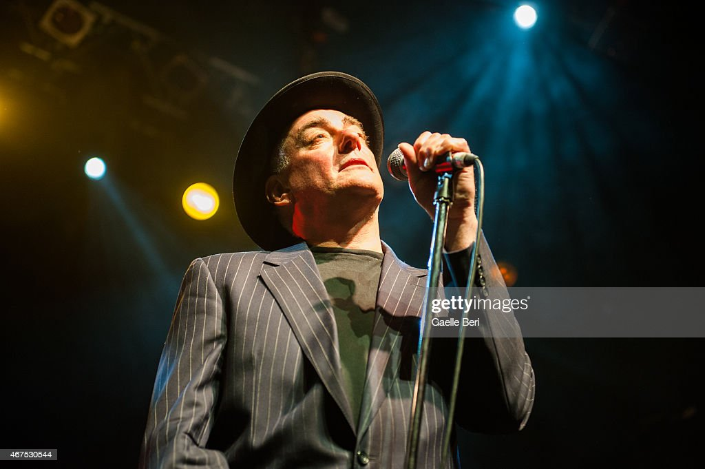 Segs Jennings of Punk band The Ruts performs at KOKO on March 25, 2015 in London, England.