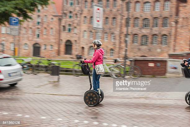 Segway along Trave canal