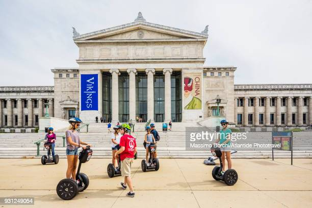segways near the field museum of natural history - field museum of natural history stock pictures, royalty-free photos & images