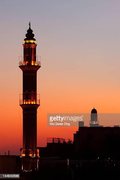 Sehidiye mosque minaret