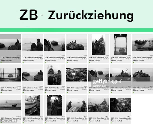 Sehr geehrte Kunden, bitte verwenden Sie die am Dienstag verbreiteten historischen 20 Schwarzweiß-Fotos von der NVA-Truppenübung in der DDR nicht,...