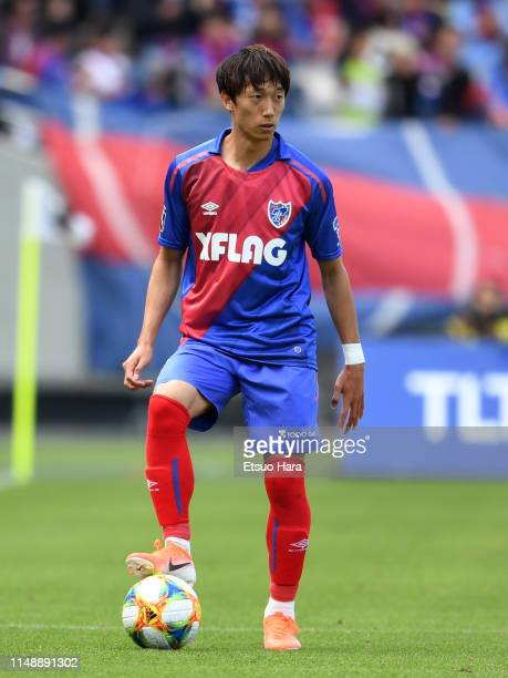 Sei Muroya of FC Tokyo in action during the J.League J1 match between FC Tokyo and Jubilo Iwata at Ajinomoto Stadium on May 12, 2019 in Chofu, Tokyo,...
