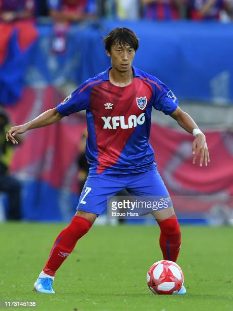 Sei Muroya of FC Tokyo in action during the J.League Levain Cup quarter final second leg match between FC Tokyo and Gamba Osaka at NACK 5 Stadium...
