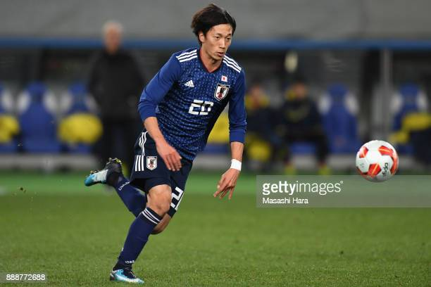 Sei Muroya of Japan in action during the EAFF E-1 Men's Football Championship between Japan and North Korea at Ajinomoto Stadium on December 9, 2017...