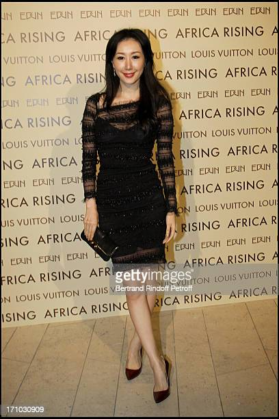 Seia Lee at Every Journey Began In Africa Party For The Exhibition Africa Rising And The Discovery Of The Collaboration Between Edun And Louis Vuitton
