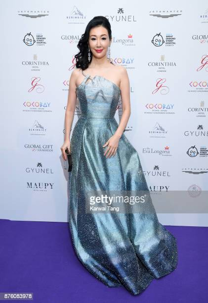 Seia Lee attends The Global Gift gala held at the Corinthia Hotel on November 18 2017 in London England