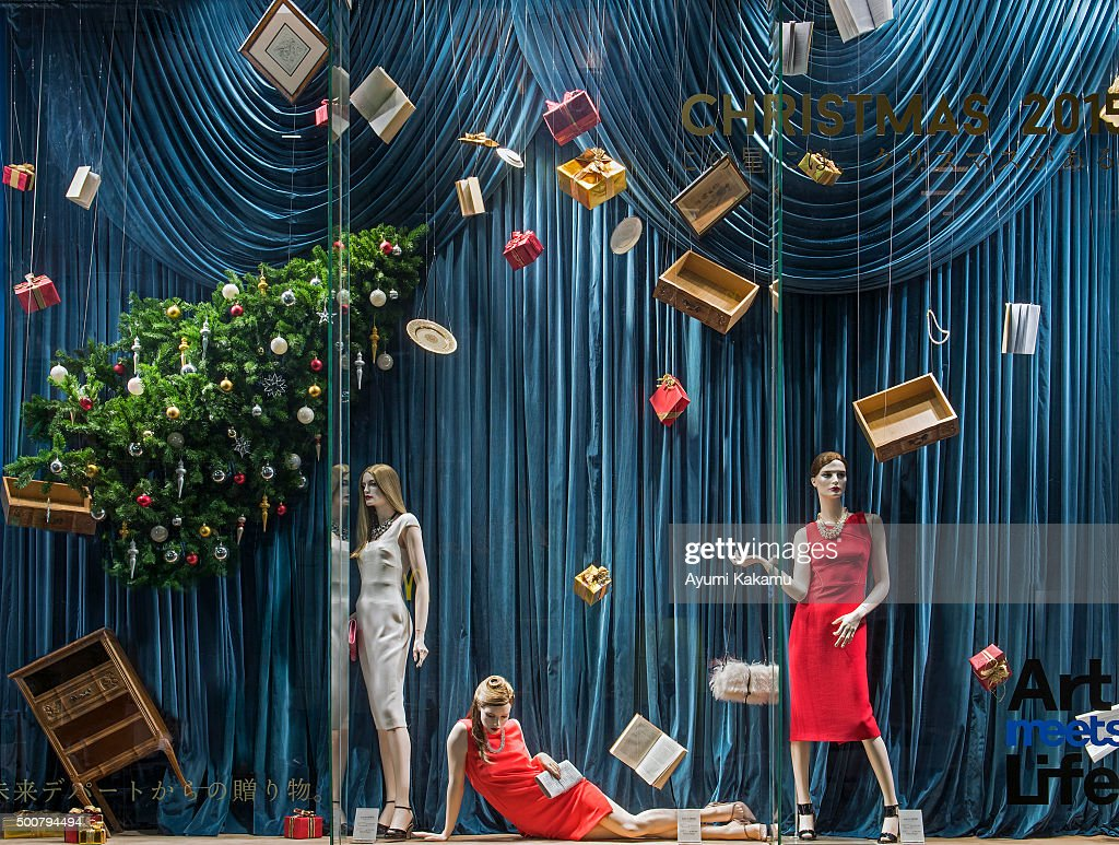 Tokyo Fashion Window Displays Photos And Images Getty Images - The 8 best holiday window displays in the world
