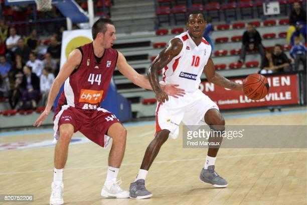Seidou NJIMOLUH - - Nancy / Sarajevo - Eurochallenge - Match Retour - Palais des sports Jean Weille,