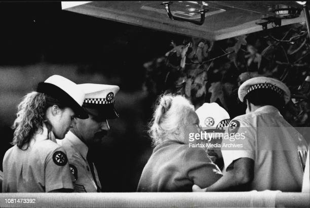 Seige at Dee Why involving Aex Babij holding his mother and father at gun pointMrs Babji being released June 07 1989
