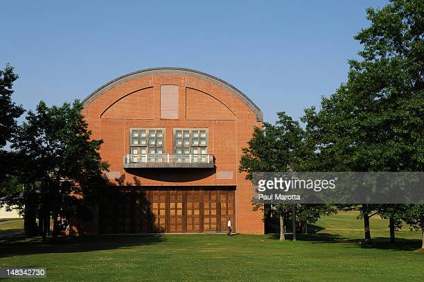 Seiji Ozawa Hall on the grounds of Tanglewood during the Tanglewood 75th Anniversary Gala And Party on July 14 2012 in Lenox Massachusetts