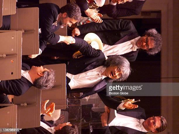 Seiji Ozawa, music director of the Boston Symphony Orchestra, says goodbye at his final performance after 29 years with the Boston Symphony Orchestra.