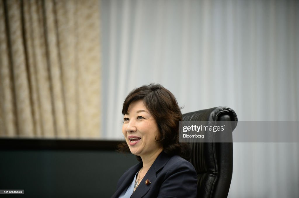 Japan's Internal Affairs Minister Seiko Noda Interview